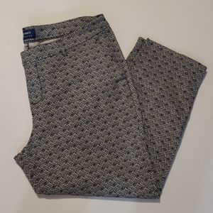 OLD NAVY Harper Mid-Rise Cropped Pants size 14